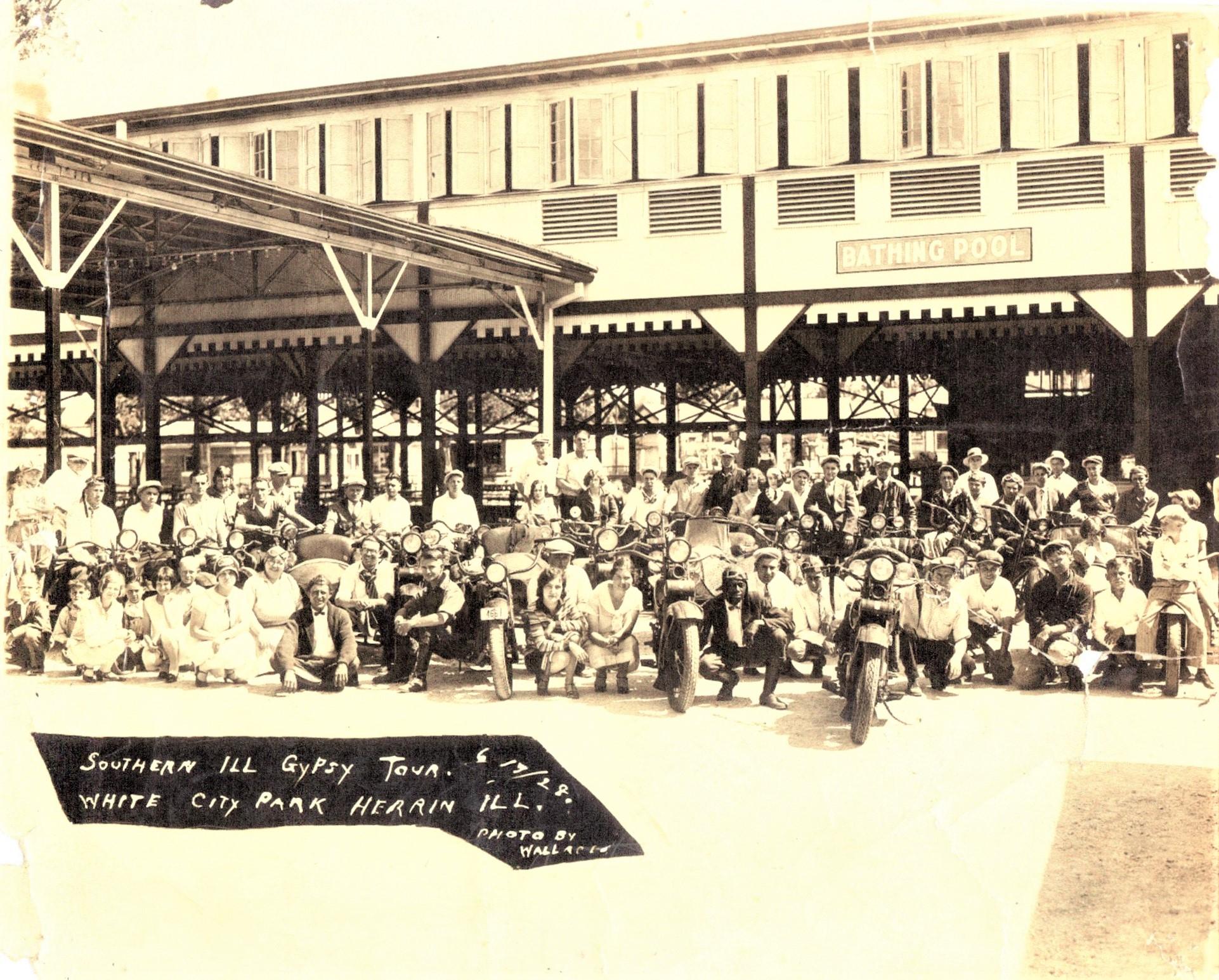 20th Century, Southern Illinois Gypsy Tour 1928