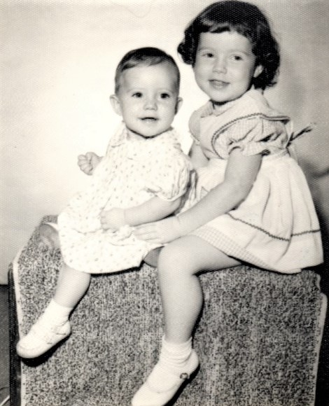 Stephanie Foster and Tracy Foster 1961