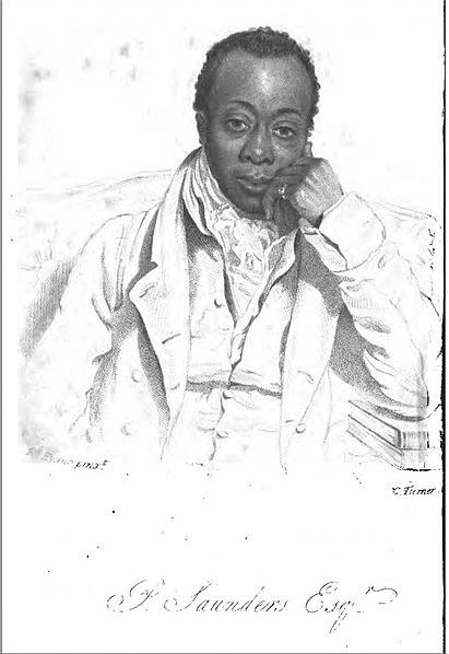 Sketch of Prince Saunders early black activist