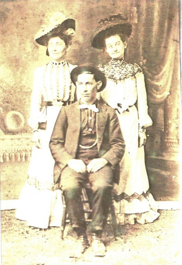 Photo of great-great aunts and uncle